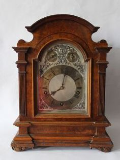 Lovely Antique Vintage Mauthe Clock K9 Nice Clock French