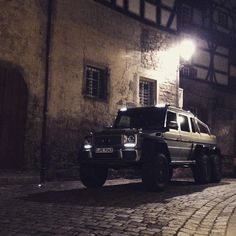 The darkest nights produce the brightest stars.  #MBPhotoCredit: @fredericseemann  #Mercedes #Benz #G636x6 #AMG #G63 #6x6 #Italy #offroad #Tuscany #foreveryground #instacar #carsofinstagram #germancars #luxury