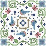 The Floss Box | Biscornu Patterns