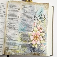 Psalm 32:7 You are my hiding place; you will protect me from trouble and surround me with songs of deliverance.
