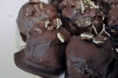 chocolate covered chocolate balls