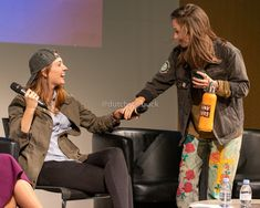 Tim Rozon, Kat Barrell, Katherine Barrell, Dominique Provost Chalkley, Waverly And Nicole, Beautiful Females, Lgbt Love, Event Photographer, Cute Anime Character