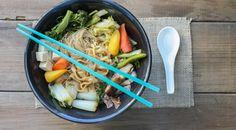 Vegan Japanese sukiyaki hot pot