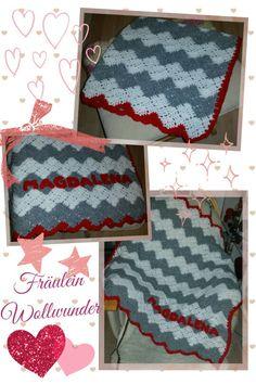 Babydecke * zick-zack * Baby blanket * afghan * gehäkelt * crochet https:// www.facebook.com / fraeuleinwollwunder