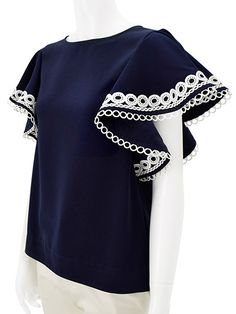 Elegant Sleeve Tops
