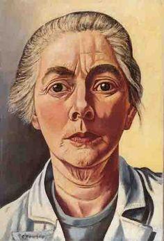 Charley Toorop, zelfportret Katwijk, 24 maart 1891 - Bergen (Noord-Holland), 5 november 1955