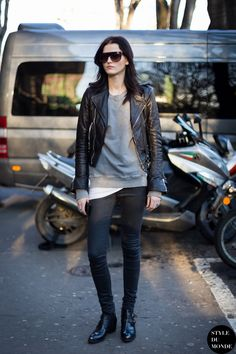#KatlinAas throwing some cool around #offduty in Milan.