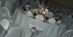 Simply beautiful... Lacy's Chair Cover Rentals, LLC