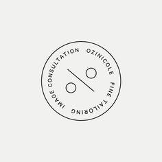ON Modern button monogram by British freelance logo designer Richard Baird - richardbaird.com