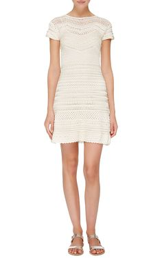 Queen Cap Sleeve Dress - Vanessa Montoro Resort 16 - Preorder now on Moda Operandi