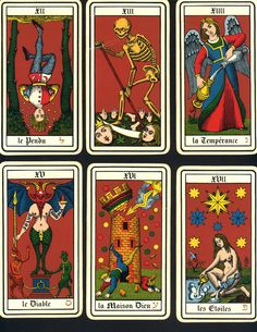 old french tarot cards