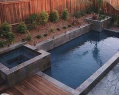 small pools design looks like this would work for our yard