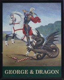 George and Dragon - High Street, Watton at Stone, Hertfordshire, UK.