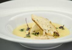 Supă-cremă de usturoi, perfectă în anotimpul rece, pentru prevenirea, sau ameliorarea stărilor gripale Risotto, Soup, Meat, Ethnic Recipes, Cream, Soups