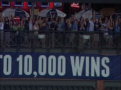 Braves win 10,000- I was there for this game! :)