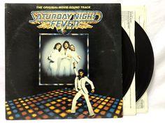 Saturday Night Fever Original Soundtrack - 1977 LP Vinyl #Records - RSO 2658123