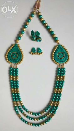 Terracotta jewelry full set
