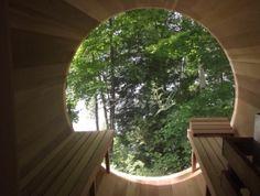 Barrel Sauna Full View 213 ø206
