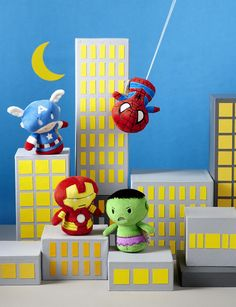 MARVEL Itty Bitty plush coming in Sept 2014 from HALLMARK; I need them all!