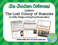 the lost colony of roanoke thesis The lost colony top selected roanoke: the lost colony--an unsolved mystery from history very interesting, but the title of this thesis is misleading.