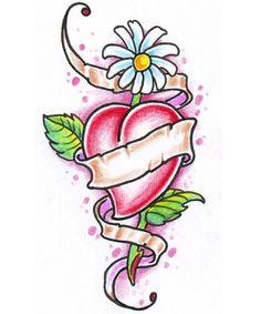 Flower Tattoo Designs - The Body is a Canvas Lilly Flower Tattoo, Flower Tattoo Designs, Flower Tattoos, Heart Tattoos, Tatoos, Tribal Tattoos, Cool Tattoos, Nintendo Tattoo, Yellow Wedding Flowers