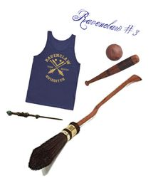 """""""Ravenclaw: Quidditch"""" by the-shadow371 on Polyvore"""