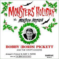 """The Spooky Vegan: Monsters' Holiday by Bobby """"Boris"""" Pickett"""