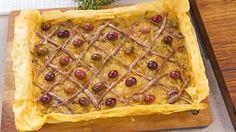 Fillo Pissaladière..onion tart