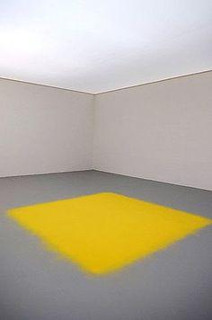 Spatial Arts--wolgang laib pollen square