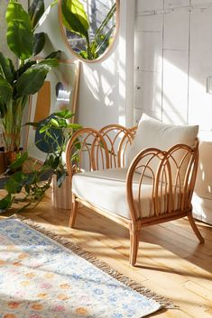 Home Interior Vintage Melody Rattan Chair.Home Interior Vintage Melody Rattan Chair Living Room Chairs, Living Room Furniture, Living Room Decor, Home Furniture, Furniture Design, Dining Chairs, Lounge Chairs, Furniture Stores, Bag Chairs