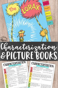 Teach characterization using the STEAL acronym and picture books! Free mini-book and graphic organizer included. Comprehension Activities, Reading Strategies, Reading Skills, Teaching Reading, Book Activities, Reading Comprehension, Teaching Literature, Reading Workshop, Reading Time