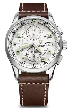 Victorinox AirBoss Mechanical Chronograph – Швейцарские армейские часы | LuxuriousWatches.ru