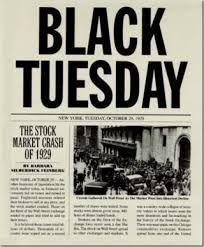 1929-1930s stock market crash