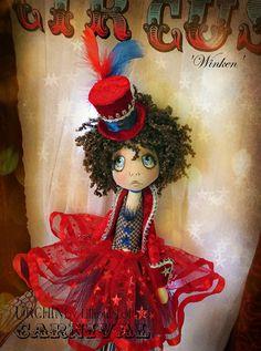Art Doll OOAK - Urchin Carnival Collection - Winken on Etsy, Sold