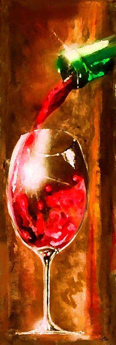 Cristallo 2 by Marcello Cicchini  #wine #redwine #bottle #glass