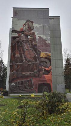 Street art Helsinki in Kontula