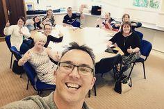 A quick #GroupSelfie from tonight's #socialmediatraining workshop in #Cumnock (with the Cumnock Business Association). . . . #eastayrshire #beready #bedigitalready #socialmedia #facebookforbusiness #retailers #alwayslearning #EmbracetheSpace
