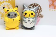 Choose between these two Totoro/Pikachu hybrids!