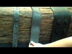 Installing Faux Iron Straps - Faux Wood Beams