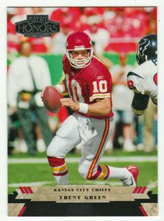 Trent Green # 52 - 2005 Playoff Honors Football