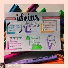 from - hoje eu trouxe ideias de como usar banners no caderno de um jeito mais eficiente… Bullet Journal School, Bullet Journal 2019, Study Inspiration, Bullet Journal Inspiration, Lettering Brush, Study Organization, School Notebooks, Pretty Notes, Sketch Notes