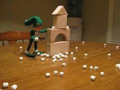 Last year's snowball fight Snowball Fight, Shelf Ideas, Triangle