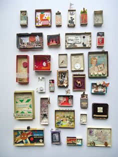 mano k. art boxes, all of march 2012