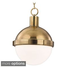 Shop for Hudson Valley Lambert 1 Light 12.5 inch Pendant. Get free shipping at Overstock.com - Your Online Home Decor Outlet Store! Get 5% in rewards with Club O!
