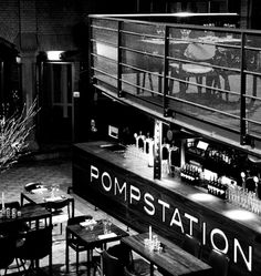 Pompstation - bar restaurant with feeling of NY - live music (jazz/funk)