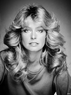 Farrah Fawcett, One of my favorites, just stare at the eyes and what a beauty ,we miss