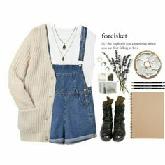 This outfit reminds me of miss honey from matilda therefore I love it!!!