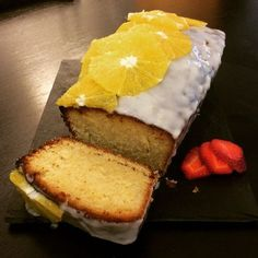 Some exquisite #baking from my lovely sister @devine_rachel #valencian #orange #drizzle loaf a trial for my #wedding #desserttable  #weddingcakes #foodporn #weddingblog #weddingblogger