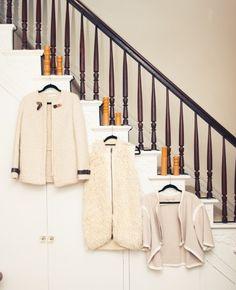Carolyn Murphy - The Coveteur The Coveteur, Carolyn Murphy, Large Handbags, Light Beige, Sweater Jacket, Wardrobes, Clean House, Warm, Consumerism