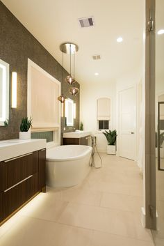 Master Bath Memorial designed by gindesignsgroup